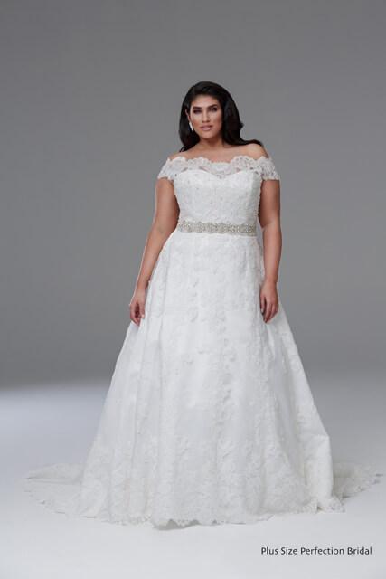 Bernadette wedding dress