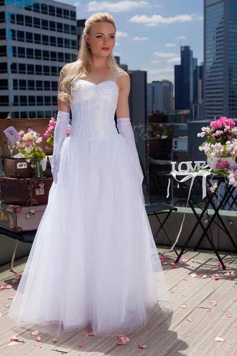 Bryony cheap deb dress