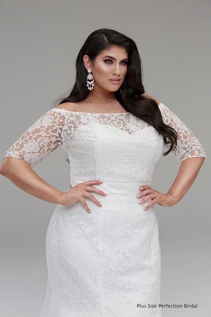 Topper lace bridal jacket