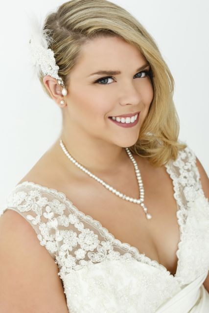 Plus size wedding dress with sleeves