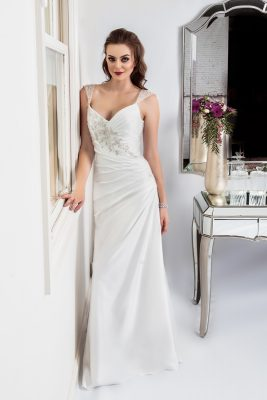 red carpet style wedding dress