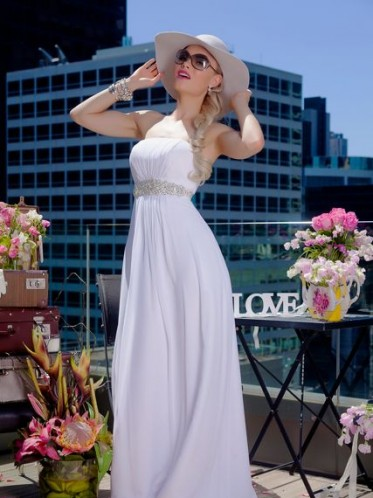 leah s designs simple chiffon dress
