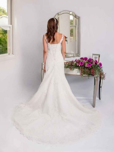crystal beaded wedding gowns Bianca