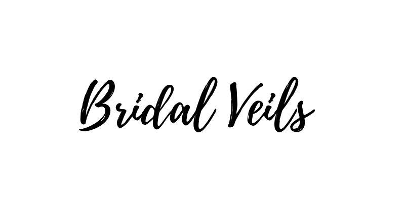 Bridal veils for brides