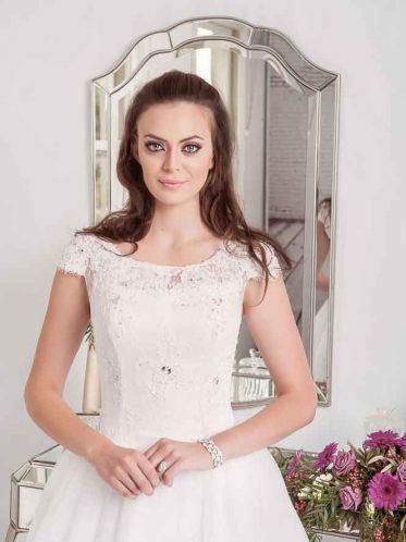 Vintage lace wedding dress Alice