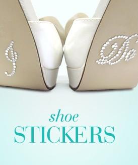 i do shoe stickers