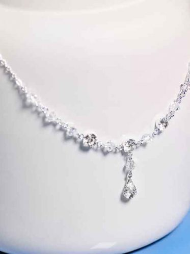 Timeless costume wedding jewellery necklace