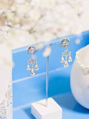 Destiny bridal necklace and earrings