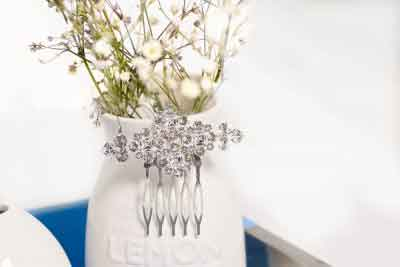 Four Wedding Day Hair Accessories You'll Love