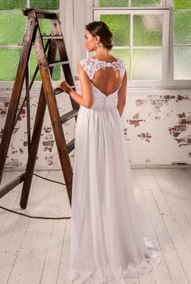 Backless wedding dresses Miranda
