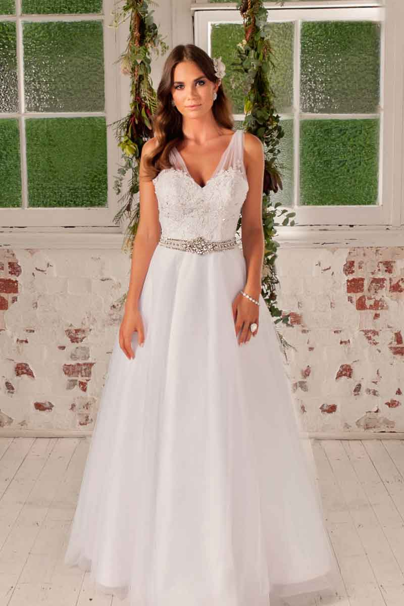 leah s designs Felicity deb dress full length