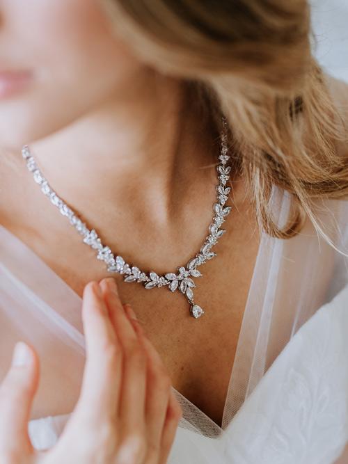 Princess style jewellery set
