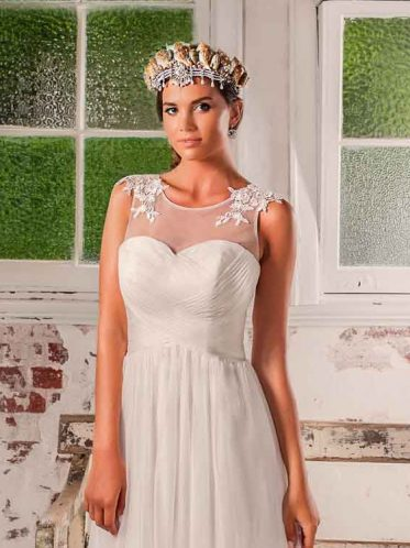 leah s designs Lana Chiffon Deb dress