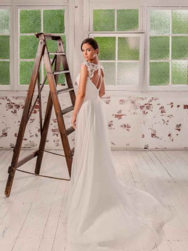 Miranda backless wedding dresses