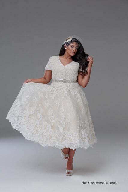Diana vintage wedding dress