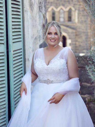 Felicity Wedding dress with wrap