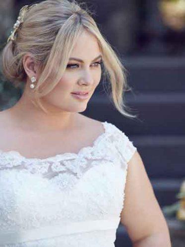 bridget Larger wedding dress