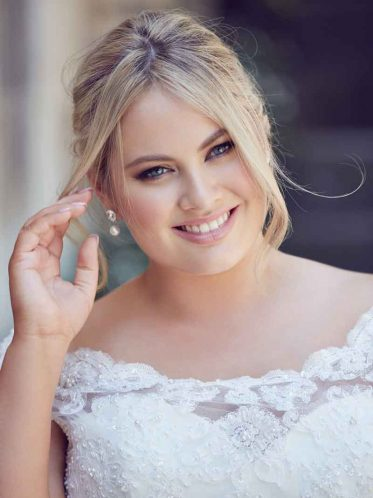 Bridget plus size wedding dress