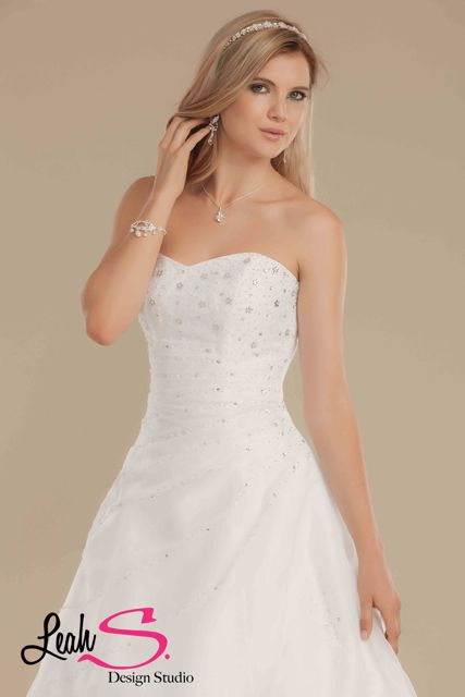 Beaded debutante dress