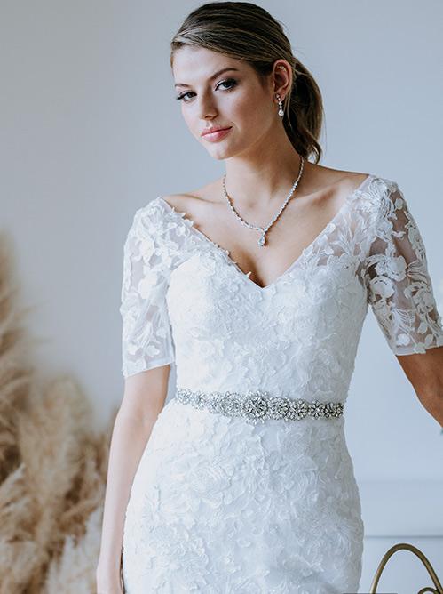 Beaded Ultimate bridal belt