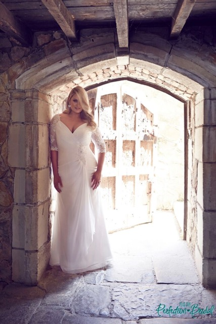 sexy plus size wedding dresses