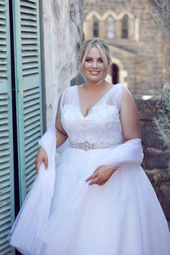 Plus size wedding dresses Felicity