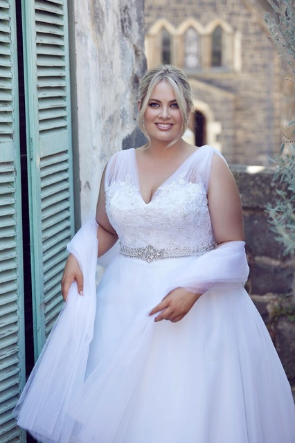 plus size wedding dresses Perfection Bridal at Montsalvat