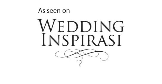 As seen on Wedding Inspires