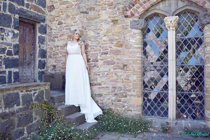 Lee garden wedding gown