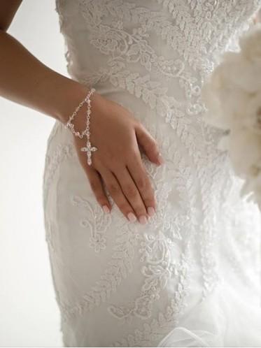 bridal rosary beads