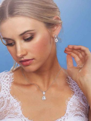 Melbourne wedding jewellery Sophia necklace