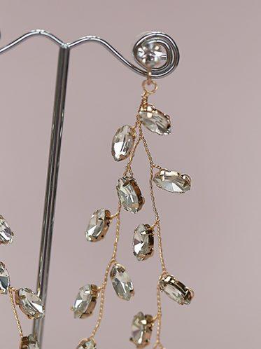 waterfall hollywood earrings