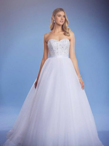 leah s designs Arabella ball gown wedding dress full length photo
