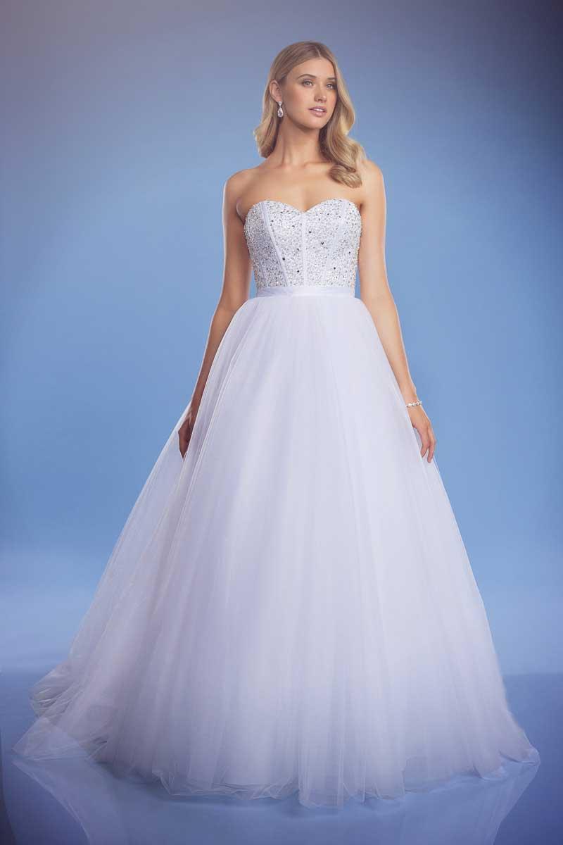 Arabella ball gown wedding dress full length photo