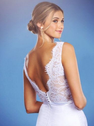 Backless wedding dress Florence