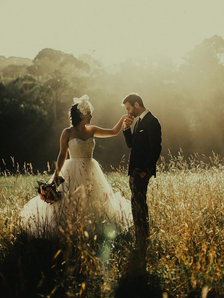 Arabella Ball gown wedding dress