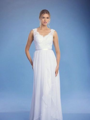 Florence backless debutante dress