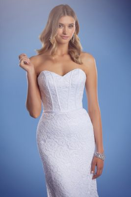 Lace mermaid wedding dress Harper