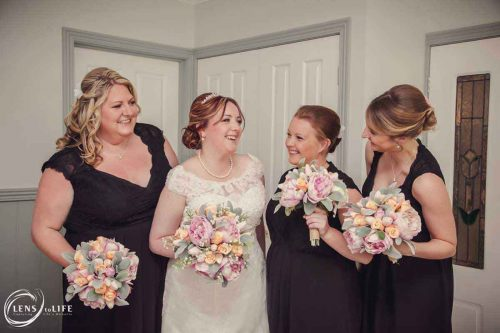 Erin and her bridesmaids