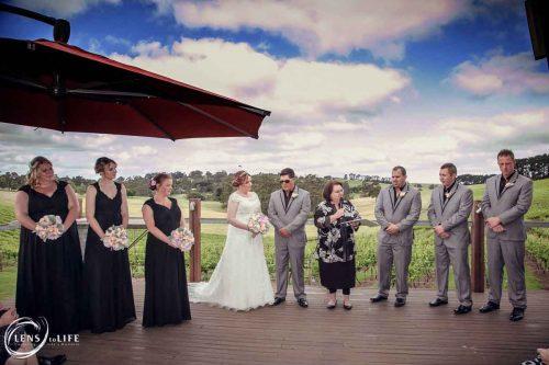 Erins wedding reception