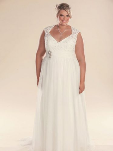 plus size bridal gowns Lillian Grace