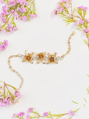 Sydney wedding bracelet in gold