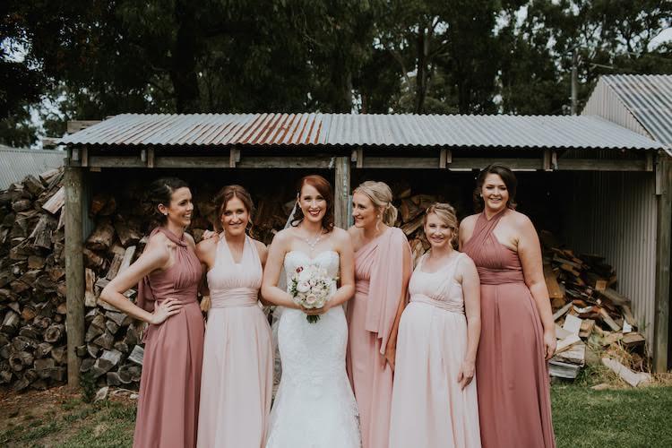 Jacqui and josh real brides weddings
