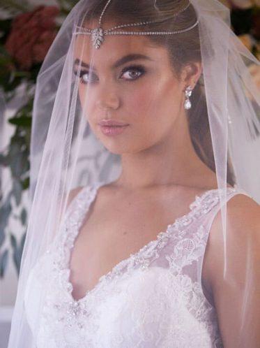 Low back wedding dress Rosebud