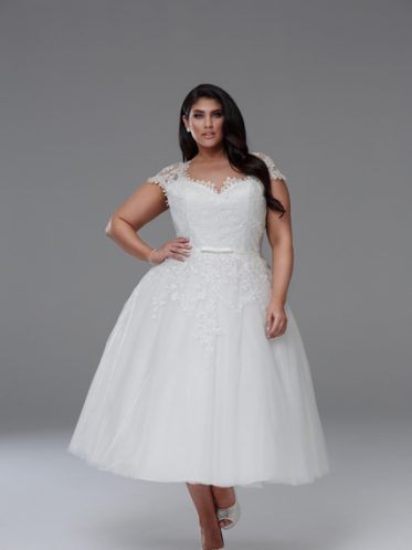 Vintage wedding dresses plus size