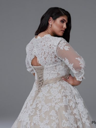 Grace long sleeve bridal gowns