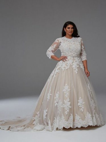 Grace long sleeve gown