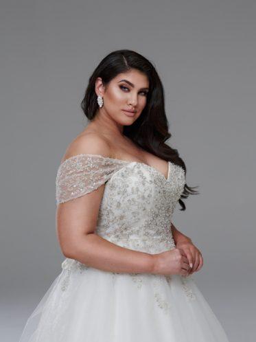 Princess wedding dresses plus size