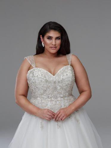 Plus Size Perfection Wedding Dresses – the Marilyn Wedding Dress