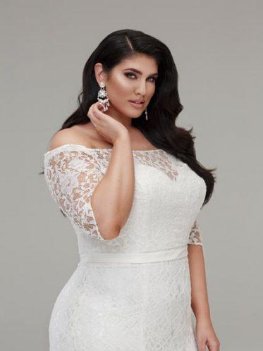 Mermaid wedding dresses plus size
